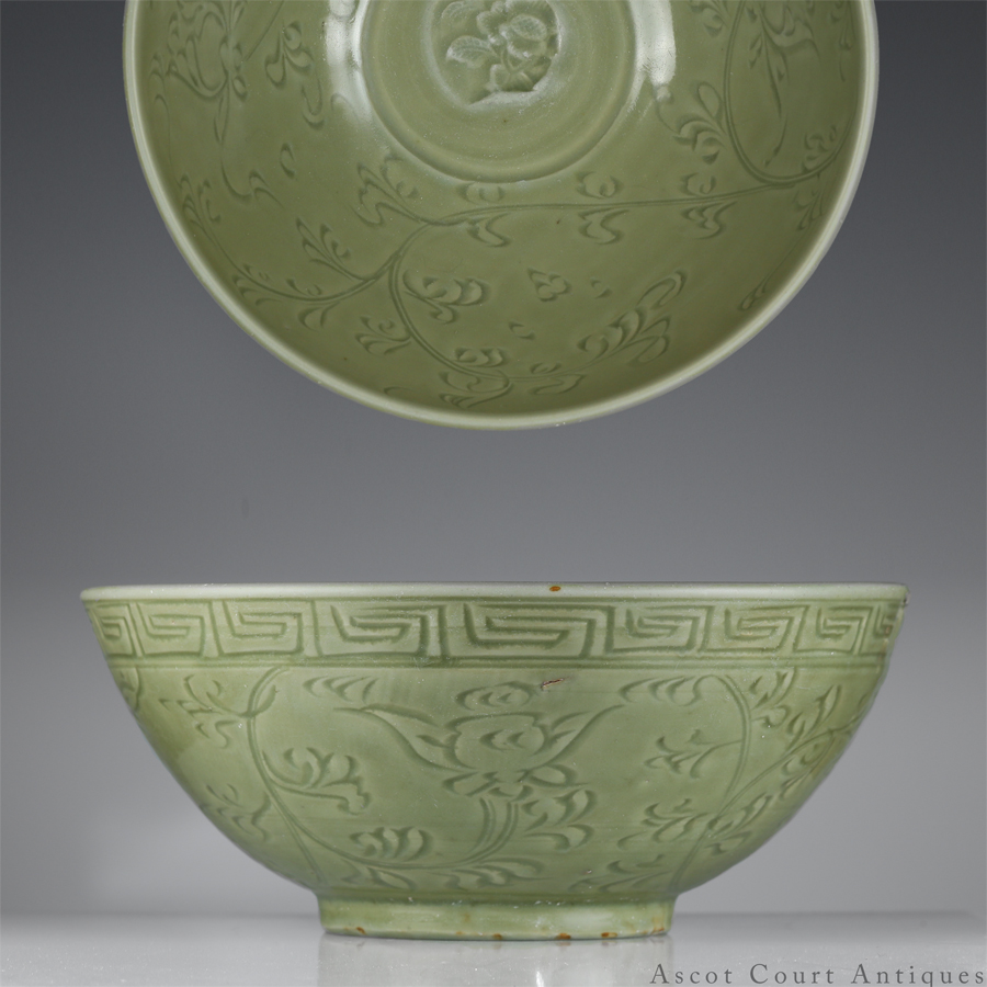 Early Ming Longquan Celadon Bowl