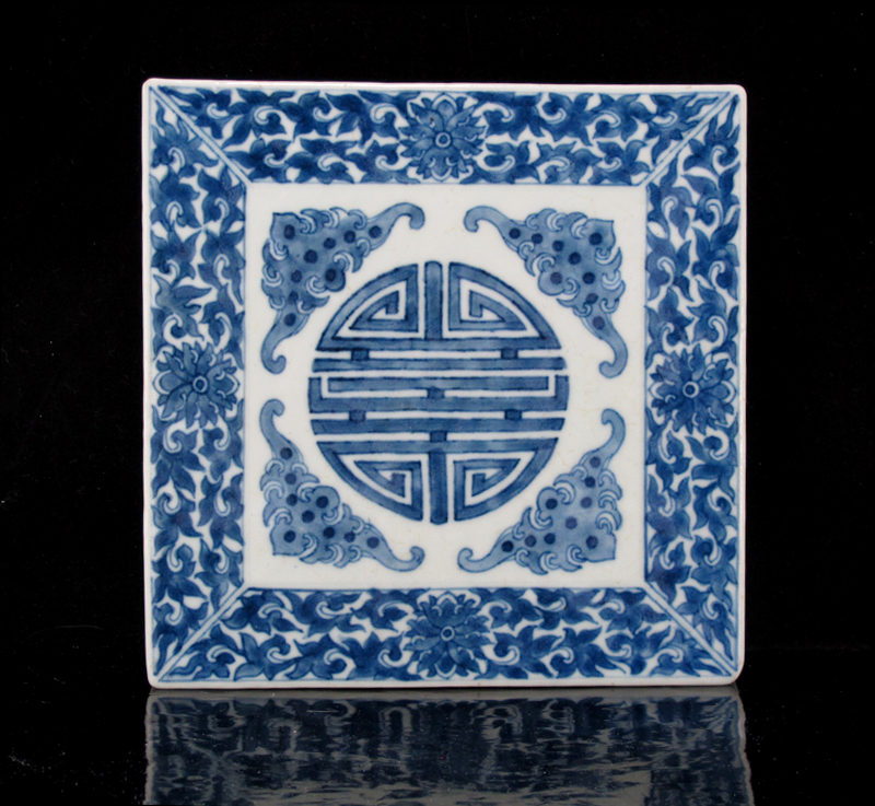 Daoguang Mark & Period Blue and White Stand